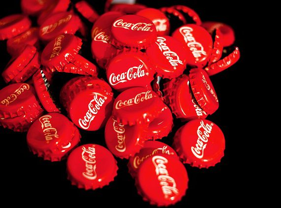 Historia logo Coca-Cola - tło