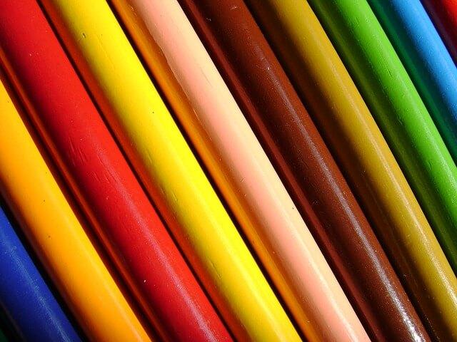 znaczenie kolorów w reklamie - tło