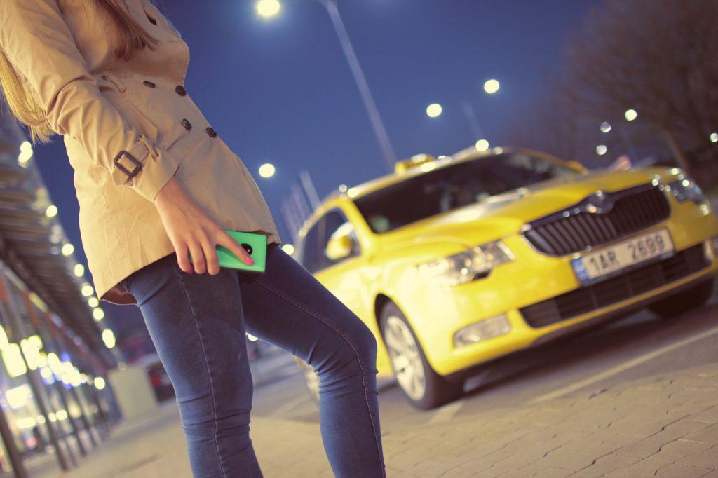 Kamera do taxi